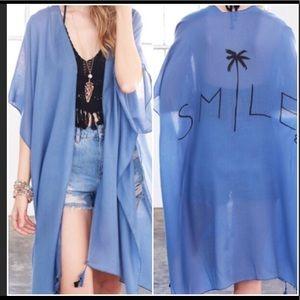 "Smile Kimono or Beach Cover Up "" HP"""